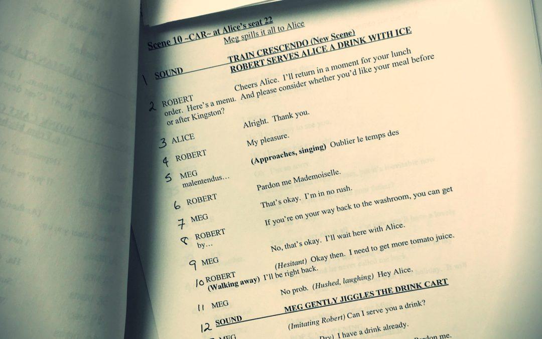Creative writing: prose, script, play