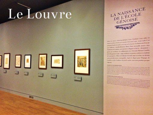 Le Louvre, Dessiner la grandeur, le dessin à Gênes à l'époque de la République